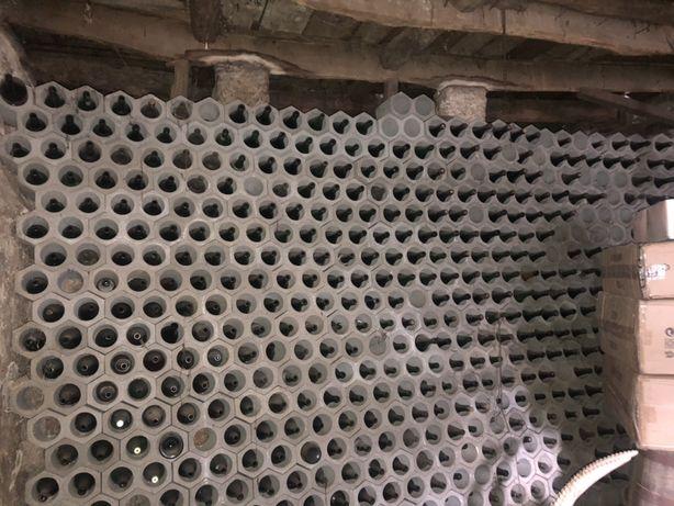 Garrafeira em tijolo