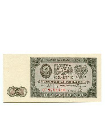 Banknot 2zł 1948r. UNC.