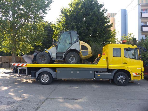 Pomoc Drogowa Laweta Transport Przyczep Autostrada A1 Obwodnica S6 S7