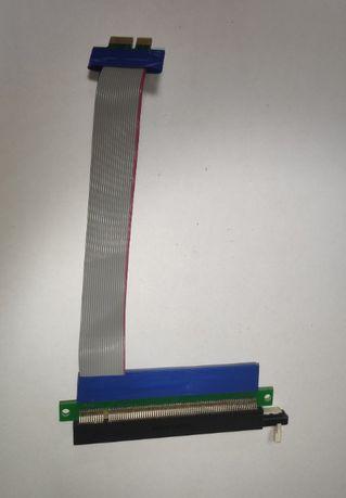 Райзер (Riser) PCI-E 1x-16x, без дод. живлення