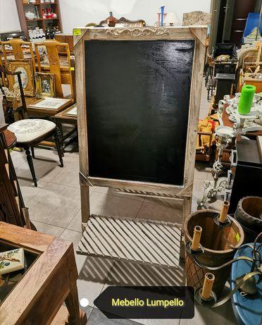 Duża drewniana tablica do pisania kredą retro vintage prowansja