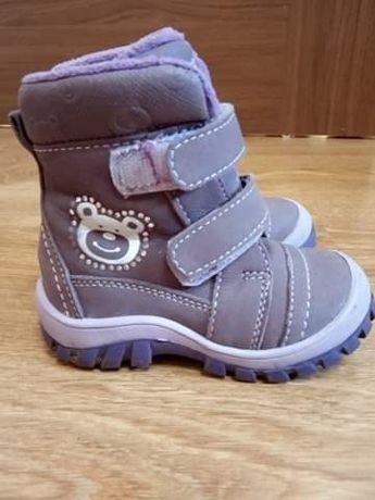 Buty Kozaki dla dziewczynki
