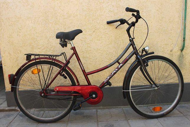 Надёжный велосипед из Европы с планетарной втулкой Nexus на 7 скорост.