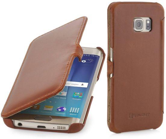Futerał Samsung Galaxy S6 brązowy skóra StilGut