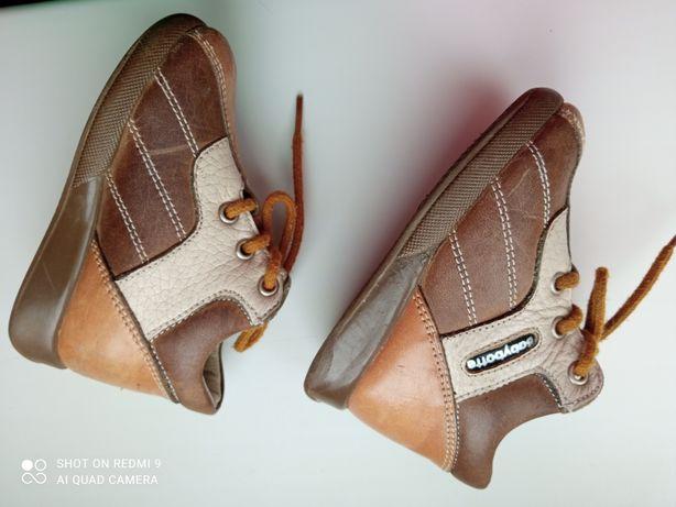 Ботинки кожаные Шкіра 18 размер Babуbotte