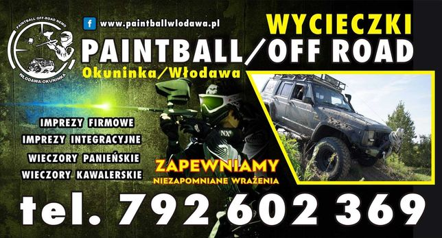 Paintball Off-Road Nemo Okuninka