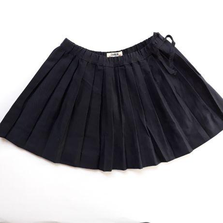 Новая плиссированная темно-синяя юбка OshKosh