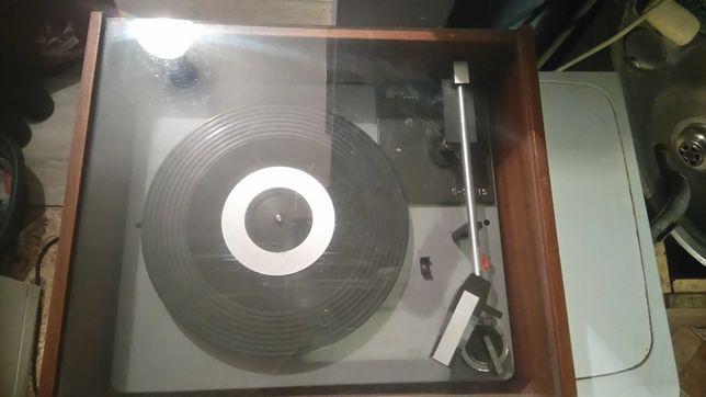 Unitra Fonika g560 fs-gramofon z pokrywa
