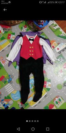 Нарядный красивый человечка  костюм на год годик 9-12 мес. F&F
