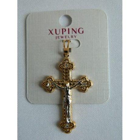 Крест Xuping позолоченный
