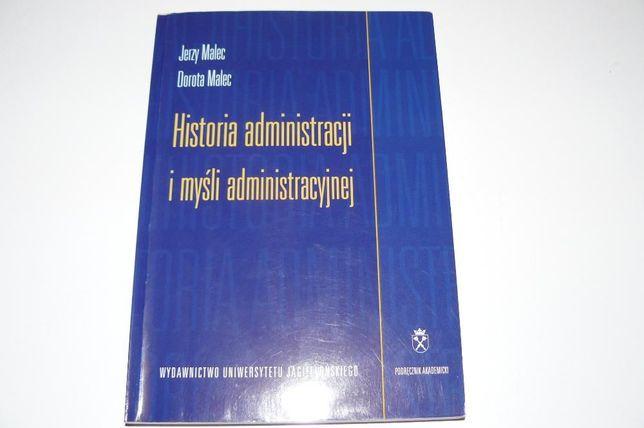 Historia administarcji i myśli administracyjnej