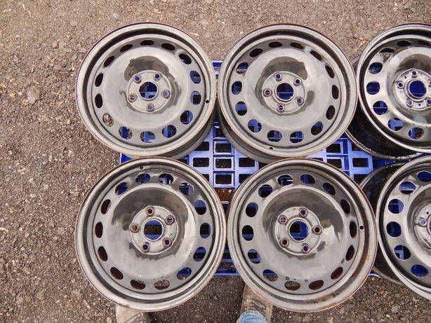 Диски 5 112 R16 Volkswagen оригинал ET 50, ET 48, ET 41, VW AG