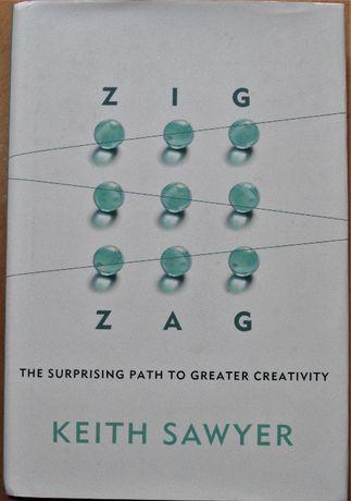 Livro - ZIG ZAG, Keith Sawer - a criatividade os negócios, novo
