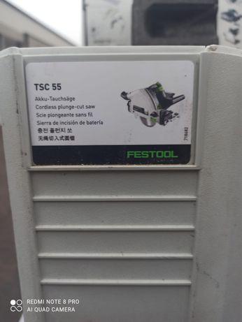 Zagłębiarka akumulatrowa festool TSC 55 Li REB-Basic (bez akumulatorów