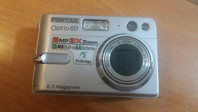 Maquina Fotográfica Pentax Optio 60 (6.0 Megapixels)