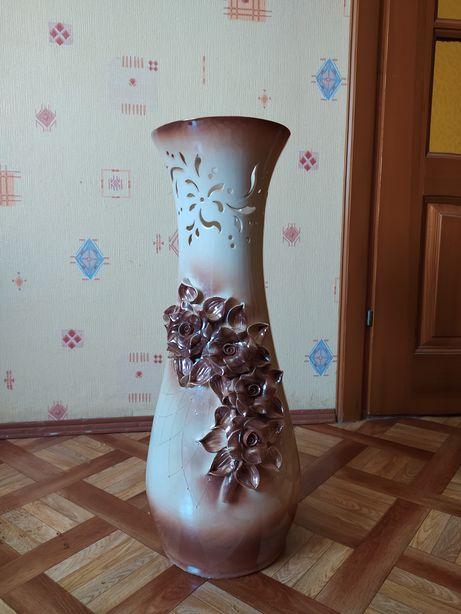 Ваза напольная керамическая