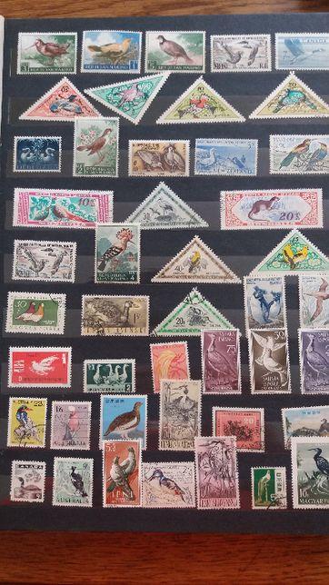 znaczki pocztowe -Tematyczne _fauna,flora ...