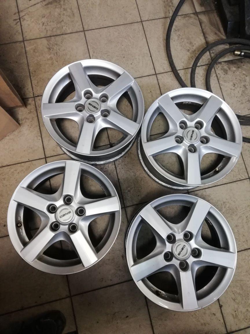 Alusy Enzo felgi aluminiowe 15 5x112 ET48 VW AUDI SEAT SKODA Mercedes