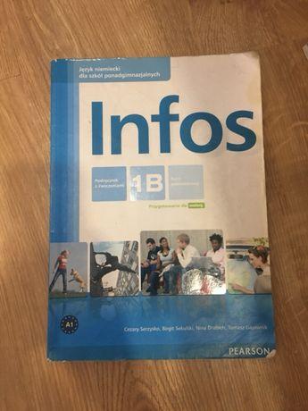 Ksiazka Infos 1B język niemiecki