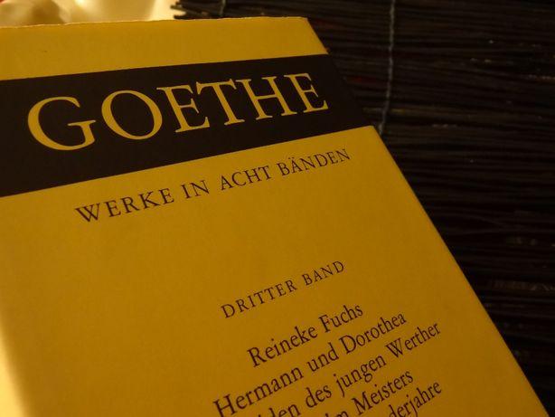 J. W. Gœthe – Werke in acht Bänden (8 volumes)