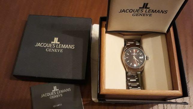 Часы кварцевые новые Швейцария Jacques Lemans Geneva