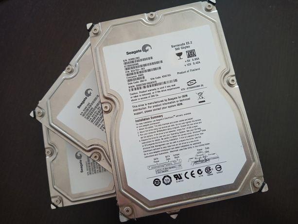 Discos Seagate Barracuda ES.2 250 GB e 500 GB