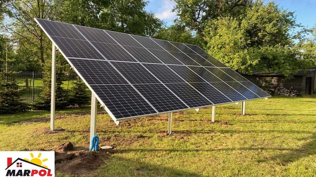 Fotowoltaika Suwałki 6,37 kW JA Solar 455W Sofar Solar 6.6