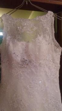 Продам сногсшибательно красивое свадебное платье.
