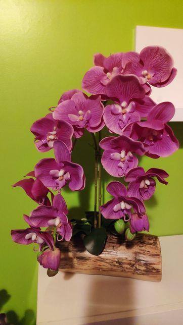 Orquídeas artificiais de qualidade (arranjo floral)