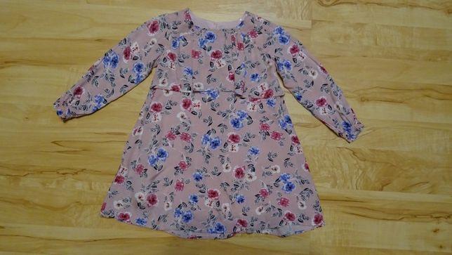 sukienka wiosenna w rozmiarze 116