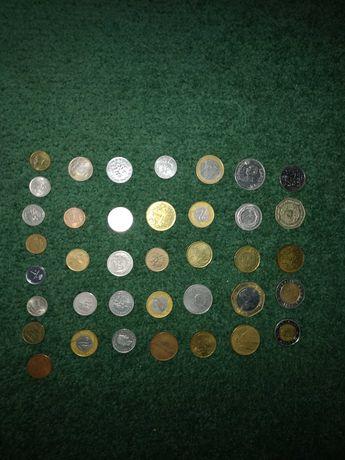 Коллекция монет разных стран