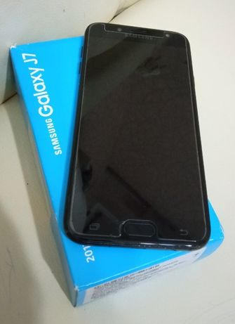 Samsung Galaxy J7 (2017) J730 Black + чехол