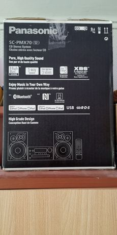 Mini Wieża Panasonic SC-PMX70 Black