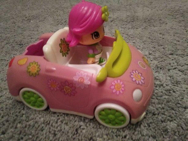 Auto pinypon z lalką jak nowe