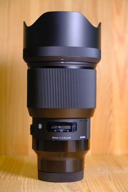 Sigma L 85mm f/1.4 DG HSM Art Lens for Leica\Lumix
