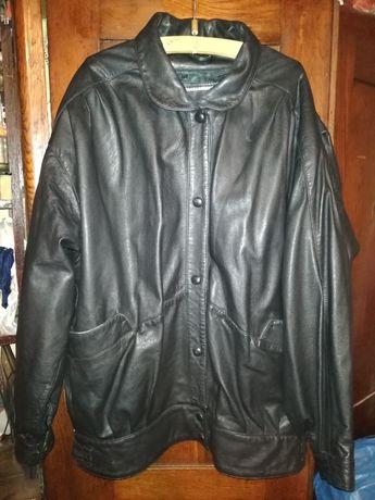 Нова жіноча куртка з натуральної шкіри демісезонна