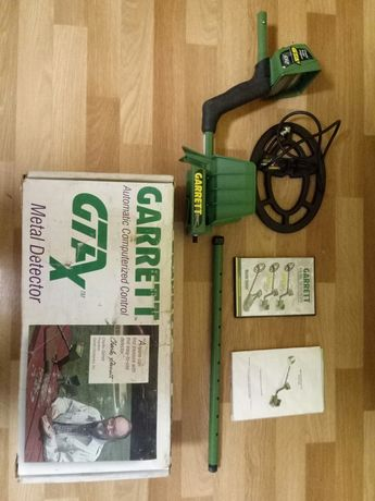 Металлоискатель Garrett GTAx 550