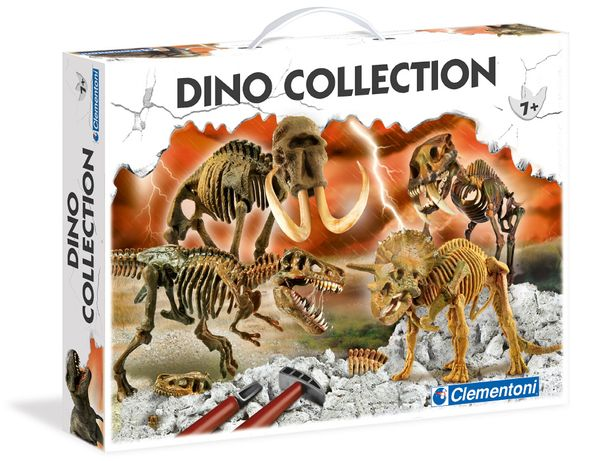 Kit Dinossauros - Dino Collection (Clementoni 92773) - Novo e Selado