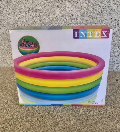 Piscina 4 argolas INTEX NOVA