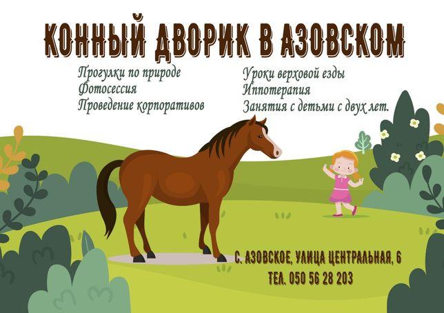 Конные прогулки в Бердянске