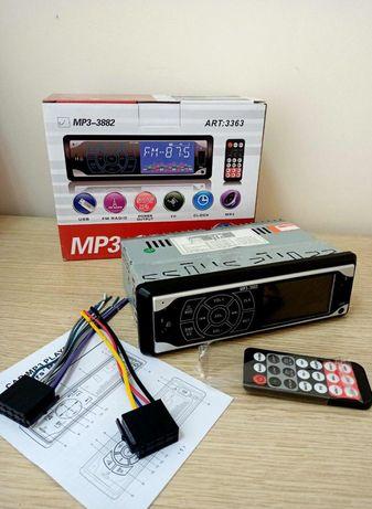 Магнитола 1 din сенсорные кнопки с пультом MP3