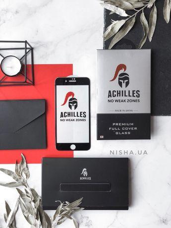 Стекло Achilles для Iphone 7\7+\8\8+\X\XR\XS\XS MAX. Оригинал!