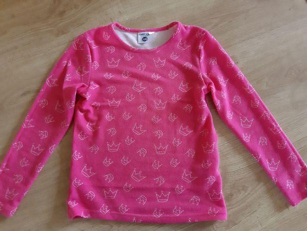 Sweterek rózowy r. 128