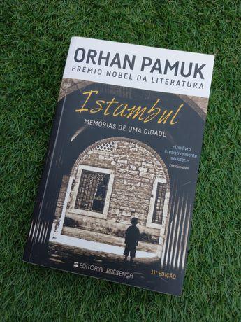 """Livro """"Istambul memórias de uma cidade"""""""