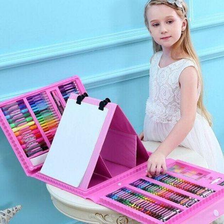 ОРИГИНАЛ. Набор для детского творчества в чемодане из 208 предметов