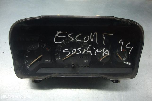 Quadrante Ford Escort, gasolina
