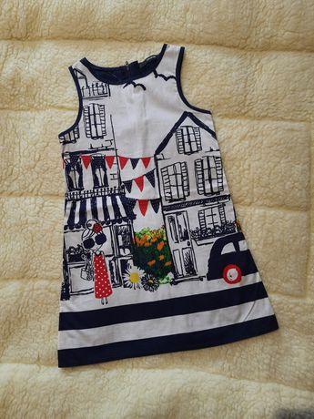 Продам платье George на девочку 4-5 лет
