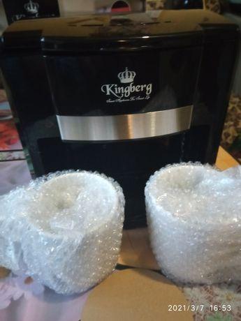 Кофеварка новая Kingberg