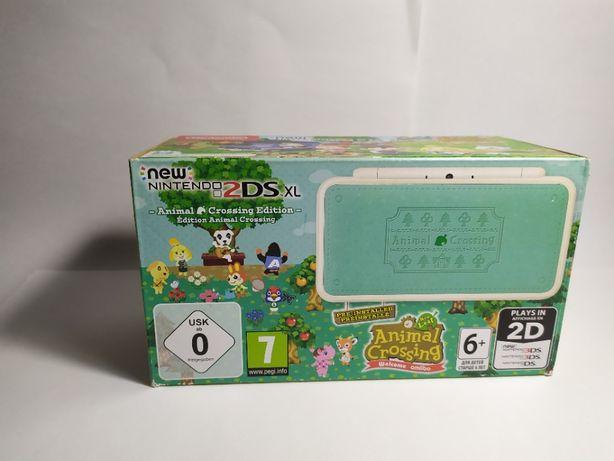 Nintendo 2ds XL Animal Crossing Edition + gra