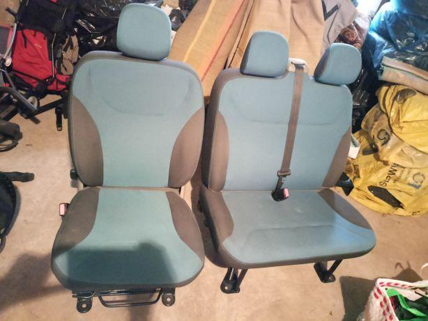 Fotel kierowcy i kanapa pasażera 2os. Trafic / Vivaro / Primastar